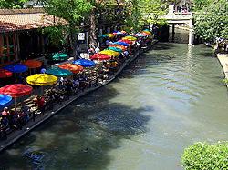 San Antonio Riverwalk Area